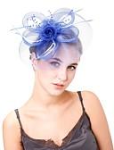 cheap Fashion Headpieces-Women's Vintage / Elegant Fascinator - Solid Colored Flower / Mesh