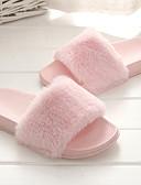 povoljno Bikinis-Žene Papuče i japanke Ravna potpetica Otvoreno toe Tkanina Udobne cipele Proljeće ljeto Sive boje / Pink / Žutomrk