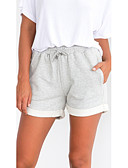 cheap Women's Tanks-Women's Basic Shorts Pants - Solid Colored