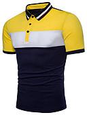 billige Herreskjorter-Polo Herre - Fargeblokk Grunnleggende