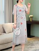 cheap Women's Dresses-Women's Party Slim Sheath Dress - Floral