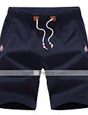 abordables Pantalones y Shorts de Hombre-Hombre Deportivo Tallas Grandes Pantalones de Deporte Pantalones - Un Color