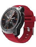 baratos Relógios Elegantes-S958 Relógio inteligente Android Bluetooth satélite Monitor de Batimento Cardíaco Calorias Queimadas Suspensão Longa Multifunções Podômetro Aviso de Chamada Monitor de Atividade Monitor de Sono