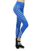 ieftine Lenjerie la Modă-Pentru femei Sexy Pantaloni de yoga - Fucsia, Gri Deschis, Albastru Sport Dungi Dresuri Ciclism / Leggings Alergat, Fitness, Sală de Fitness Îmbrăcăminte de Sport Uscare rapidă, Respirabil / Strech