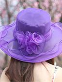 cheap Women's Hats-Women's Sun Hat - Solid Colored Mesh