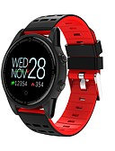 cheap Smartwatches-Smart Bracelet Smartwatch R13 for Android / iOS 7 and above Heart Rate Monitor / Calories Burned / Touch Screen / Water Resistant / Water Proof / Distance Tracking Pedometer / Call Reminder