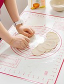 baratos Vestidos de Patinação no Gelo-Ferramentas bakeware Gel De Silicone Multi funções / Gadget de Cozinha Criativa Pão Mantas e forros de cozimento 1pç