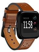 halpa Smartwatch-nauhat-Watch Band varten Fitbit Versa Fitbit Moderni solki Aito nahka Rannehihna