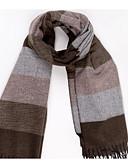tanie Męskie swetry i swetry rozpinane-Męskie Podstawowy Prostokątna - Jedwab wiskozowy, Geometric Shape / Kolorowy blok / Wiosna / Jesień