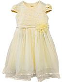 cheap Women's Tops-Kids Girls' Basic Solid Colored Short Sleeve Dress