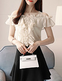 povoljno Bluza-Bluza Žene Izlasci Jednobojni U izrez