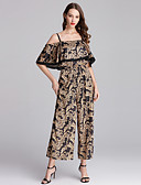cheap Women's Jumpsuits & Rompers-SHIHUATANG Women's Street chic / Boho Jumpsuit - Paisley, Print