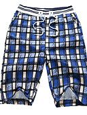 ieftine Pantaloni Bărbați si Pantaloni Scurți-Bărbați De Bază Pantaloni Scurți Pantaloni Plisat