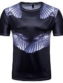 cheap Women's Swimwear & Bikinis-Men's Active / Street chic T-shirt - Color Block Print