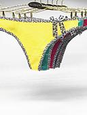 baratos Calcinhas-Mulheres Tanga & Fio Dental - Laço, Bordado Cintura Baixa / Sexy