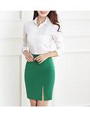 זול חצאיות לנשים-אחיד - חצאיות צינור בסיסי בגדי ריקוד נשים