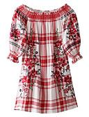 tanie Sukienki-Damskie Podstawowy Spódnica Sukienka Nad kolano