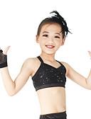 baratos Vestidos de Patinação no Gelo-Acessórios de Dança Luvas de Dança Mulheres Espetáculo Fibra Sintética Moderno / Meninas Charmosas Mangas