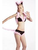 baratos Camisolas e Pijamas Femininos-Mulheres Baby-doll & Slip Roupa de Noite - Frente Única, Estampa Colorida