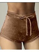 ieftine Pantaloni de Damă-Pentru femei Zvelt Pantaloni Scurți Pantaloni Mată