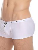 זול תחתונים וגרביים לגברים-בגדי ריקוד גברים אחיד בוקסר / תחתונים מותן בינוני