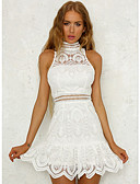 ieftine Dresses For Date-Pentru femei Ieșire Zvelt Teacă Rochie Stil Nautic Talie Înaltă Mini