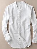 ieftine Tricou Bărbați-cămașă pentru bărbați - gât v colț solid