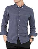 ieftine Tricou Bărbați-cămașă pentru bărbați - gât pătrat solid colorat