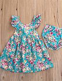 halpa Vauvojen mekot-Vauva Tyttöjen Aktiivinen Päivittäin Painettu Hihaton Pitkä Puuvilla Vaatesetti Uima-allas