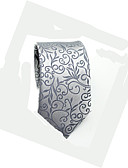 cheap Men's Ties & Bow Ties-Men's Work / Basic Cotton / Polyester Necktie - Floral / All Seasons