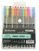 povoljno Satovi dodaci-gel olovka pero pero, Plastika Multi-color tinta boje Za Školski pribor Uredski pribor Pakiranje od 12 pcs