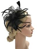 cheap Fashion Headpieces-Women's Fashion / Elegant Hair Clip / Fascinator - Solid Colored Bow / Mesh