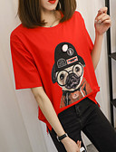 povoljno Majica s rukavima-Majica s rukavima Žene Dnevno Životinja