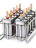 billige Blomsterpikekjoler-Bakeware verktøy Rustfritt stål GDS Is / kjærlighet på pinne Dessertverktøy 1pc