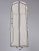billige Aftenkjoler-En-lags Moderne Brudeslør Klesposer med Solid 59.06 i (150cm) Polyester / bomullsblanding / Rett Skjæring