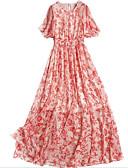 זול שמלות נשים-מותניים גבוהים מידי שמלה סווינג רזה ליציאה בגדי ריקוד נשים