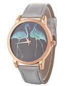 ieftine Quartz-Xu™ Pentru femei Ceas de Mână Quartz Creative Ceas Casual Mare Dial PU Bandă Analog Desen animat Modă Negru / Alb / Albastru - Rosu Verde Albastru Un an Durată de Viaţă Baterie