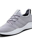 cheap Sport Watches-Men's Mesh Fall Comfort Athletic Shoes Walking Shoes Gray / Red / Black / White