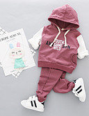 povoljno Kompletići za bebe-Dijete Djevojčice Jednobojni / Print Rukava do lakta Komplet odjeće