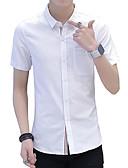 olcso Férfi pólók-Aktív / Alap Férfi Ing - Egyszínű