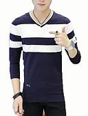 povoljno Muške majice i potkošulje-Majica s rukavima Muškarci Dnevno / Izlasci Color block Okrugli izrez / Kratkih rukava