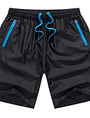 cheap Men's Pants & Shorts-Men's Basic Shorts Pants - Solid Colored Blue