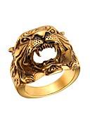 cheap Women's Dresses-Men's Hollow Ring - Stainless Steel Skull Fashion Gold / Silver For Gift / Street
