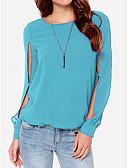 ieftine Tricou-Pentru femei Bluză Plajă Mată