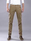 ieftine Pantaloni Bărbați si Pantaloni Scurți-Bărbați De Bază / Militar Pantaloni Chinos / Pantaloni Sport Pantaloni Mată