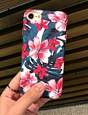 cheap iPhone Cases-Case For Apple iPhone XR XS XS Max Frosted / Pattern Back Cover Flower Hard PC for iPhone X 8 8 Plus 7 7plus 6s 6s Plus SE 5 5S