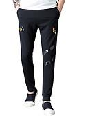 ieftine Pantaloni Bărbați si Pantaloni Scurți-Bărbați De Bază Pantaloni Chinos Pantaloni Geometric