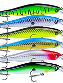 cheap Men's Jackets & Coats-6 pcs Crank Fishing Lures Hard Bait Plastic Outdoor Sinking Bait Casting Lure Fishing General Fishing