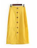 povoljno Ženske suknje-Žene Olovka Osnovni Suknje - Jednobojni