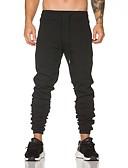 ieftine Maieu & Tricouri Bărbați-Bărbați Bumbac Pantaloni Chinos Pantaloni Mată